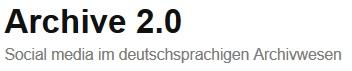 """Aufstellung """"Archivaufgabe: Web 2.0-Anwendungbeispiel"""""""