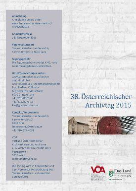 Österreichischer Archivtag 2015